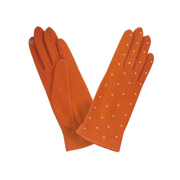 gant laine stud all over 701 orange