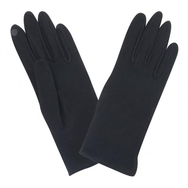 gant silver clear tactile anti-bactérien noir