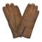 gant cuir zip au milieu - 3 bandes matelassées au milieu Cork